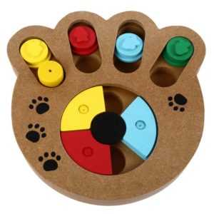 Interactive IQ Dog Treat Puzzle - Keep Your Dog Busy