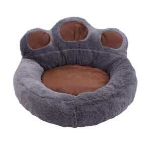 Soft Bear Paw Dog Bed - Warm & Comfy 11