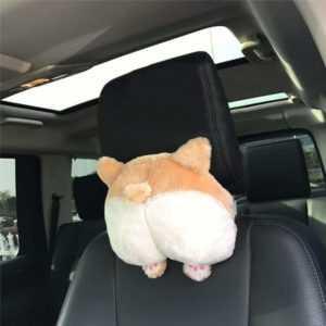 Corgi Butt Car Neck Pillow - A Perfect Gift Idea For Any Corgi Lover -