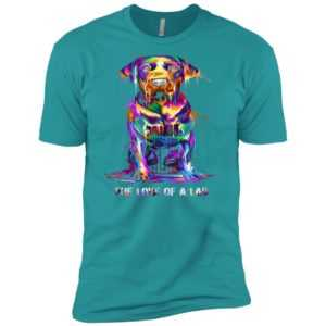 The Love Of Labrador Retriever Premium Tee