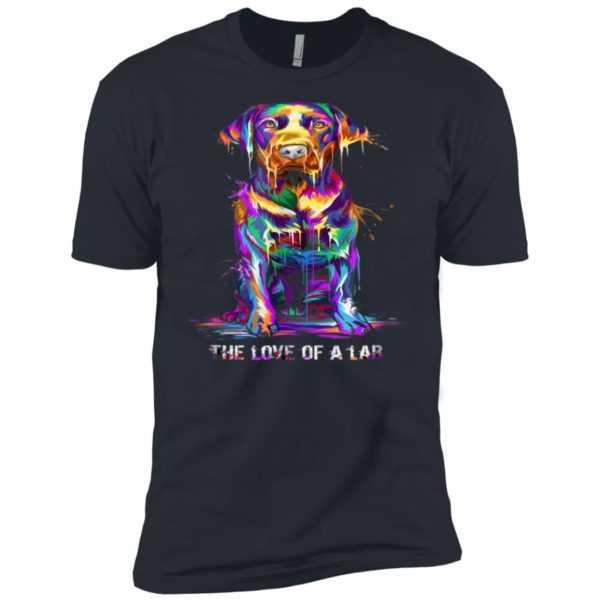 The Love Of Labrador Retriever Premium Tee
