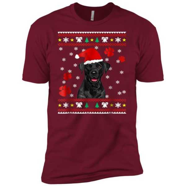 Christmas Labrador Retriever Lover Premium Tee