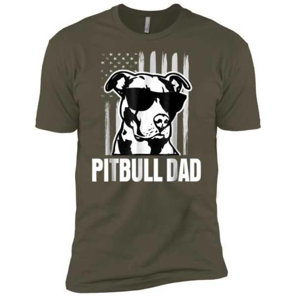 Pitbull Dad Premium Tee