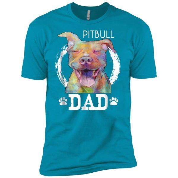 Mens Pitbull Dad Premium Tee