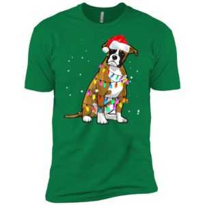Boxer Christmas Premium Tee -