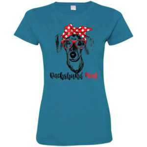 Dachshund Mom Fitted Tee – Gift For Women